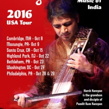 Harsh Narayan 2016 USA Tour Updated